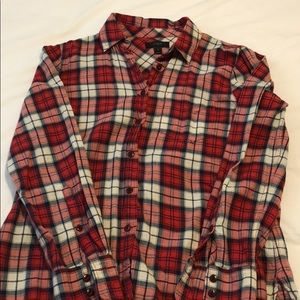 Jcrew flannel button down
